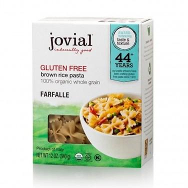 GF pasta: jovial