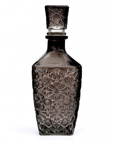 Leif Etched Glass Decanter