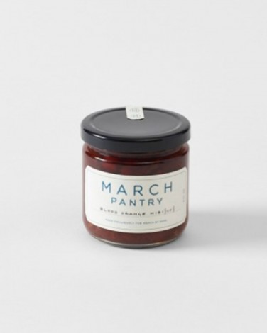 MARCH Pantry blood orange and hibiscus jam