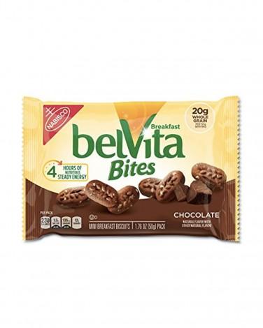 Chocolate Belvita Breakfast Bites