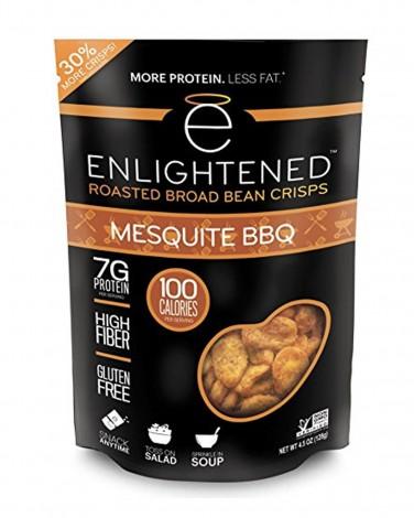 Enlightened Mesquite BBQ Roasted Bean Crisps