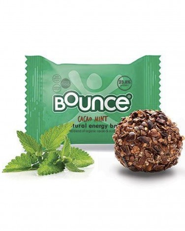 Cacao and Mint Bounce Protein Balls