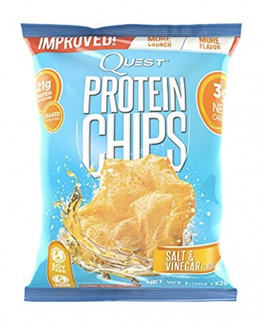 Salt and Vinegar Quest Chips