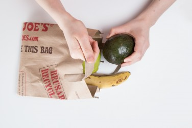 1. Brown bag it with other fruit.