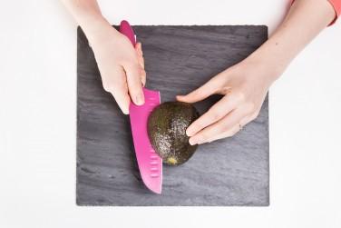 Avocado Cut Lengthwise
