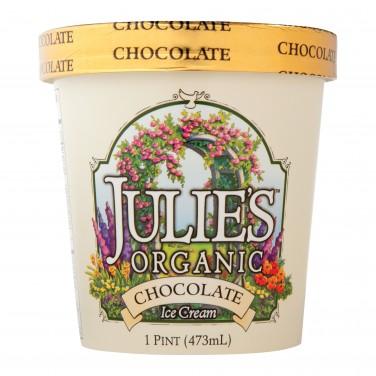 Julie's Organic Chocolate Ice Cream