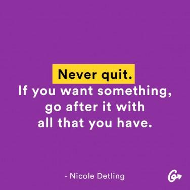 Nicole Detling Quote