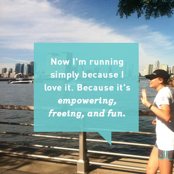 Laura Schwecherl Running Quote