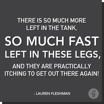 Lauren Fleshman Quote