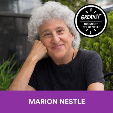 7. Marion Nestle, Ph.D., M.P.H.