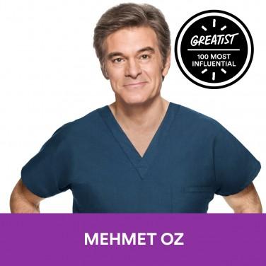 5. Mehmet Oz, M.D.