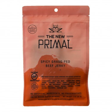 New Primal Spicy Beef Jerky
