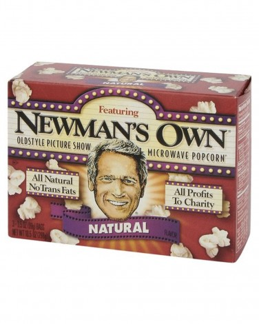Newman's Own Natural Popcorn