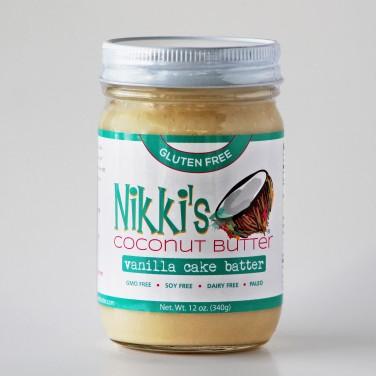 Nikki's Vanilla Coconut Butter Cake Batter