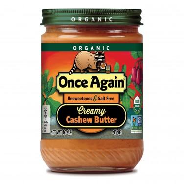 Once Again Organic Cashew Butter