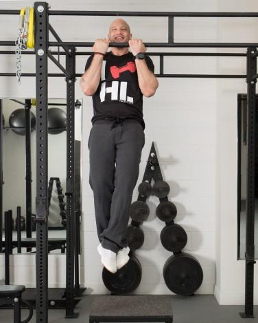 Pull-Up Bar Progression - Isometric Hold