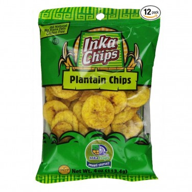 Paleo Snacks: Inka Plantain Chips