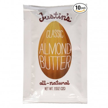 Paleo Snacks: Justin's Almond Butter Packets