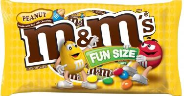3. Peanut M&Ms