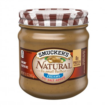 Smucker's Natural Creamy Peanut Butter With No Salt Added