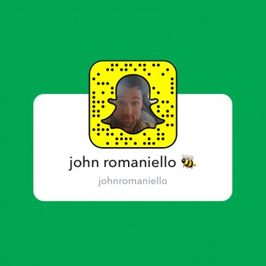 SnapChats to Follow: John Romaniello