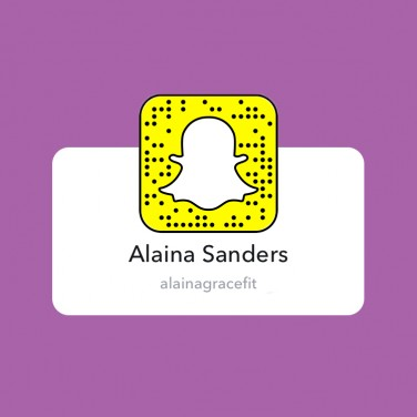 SnapChats to Follow: Alaina Sanders
