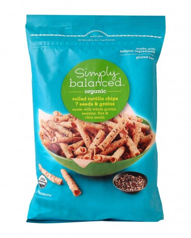 Simply Balanced Organic Really Seedy Rolled Tortilla Chips