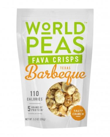 World Peas Texas Barbeque Fava Crisps