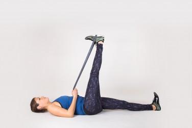 Wall Hamstring Stretch