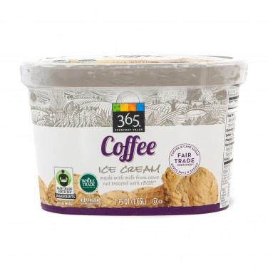 365 Everyday Value Fair Trade Coffee Ice Cream