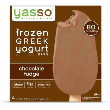 Yasso Frozen Chocolate Fudge Greek Yogurt Bars