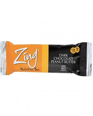 Zing dark chocolate peanut butter bar