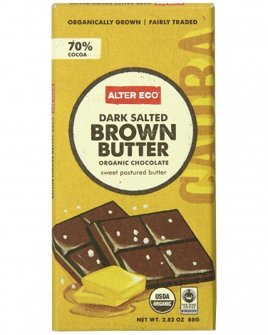Alter Eco Dark Salted Brown Butter Bar