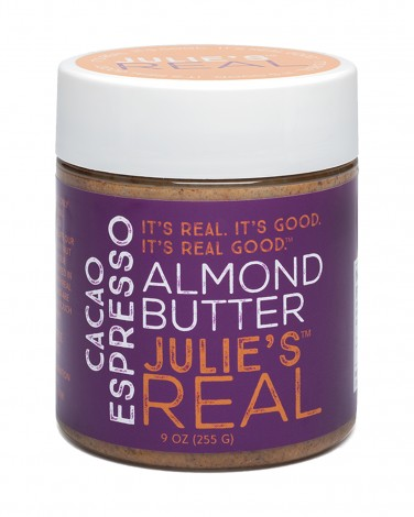Julie's Real Almond Butter with Cacao and Espresso