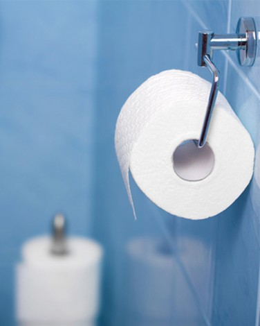 Cover Up a Poop Smell: Courtesy Flush