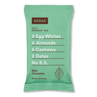 Paleo Snacks: Rx Bars