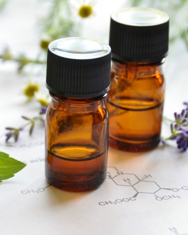 Cover Up a Poop Smell: Essential Oils