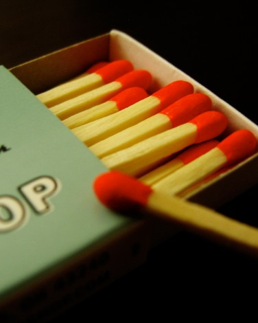 Cover Up a Poop Smell: Matches