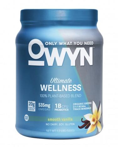 OWYN Vanilla vegan protein powder