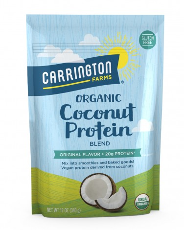 Carrington Farms vegan protein powders