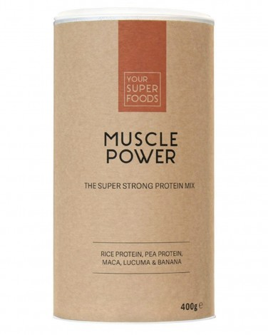 Your Super Foods Muscle Power vegan protein powder