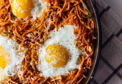 three ingredient breakfast: feature
