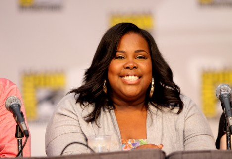 Glee's Amber Riley Tells the Haters: When You Call Me Fat, It's Not an Insult