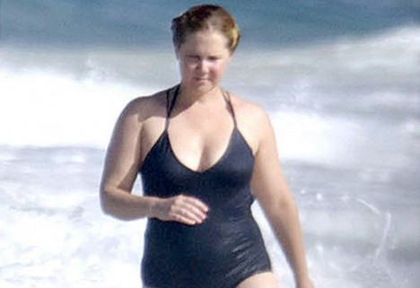 Amy Schumer Wears a Swimsuit Like a Normal Person, Calls Out Haters for Being D*cks