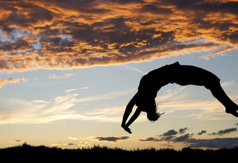 Don't Try This at Home: How I Learned to Do a Backflip in Just 4 Weeks