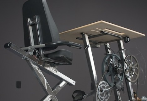 Believe It, This Awesome Machine Lets You Pedal to Power Your Laptop