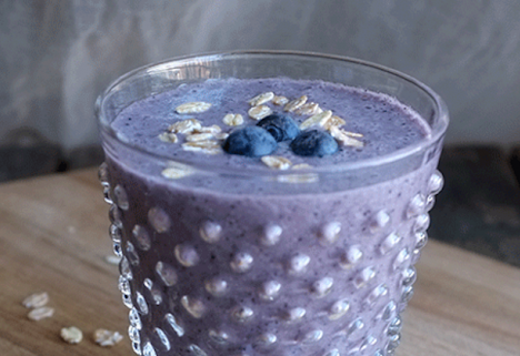 Recipe: Blueberry Muffin Smoothie