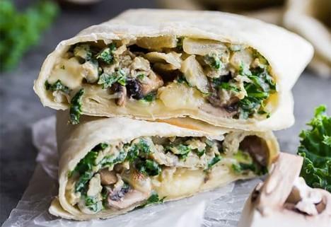 Protein Packed Vegan Breakfast Burritos