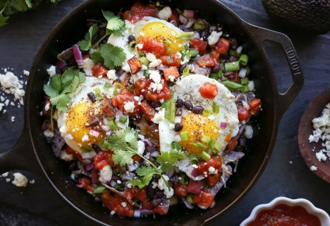 Huevos Rancheros Breakfast Nachos Recipe