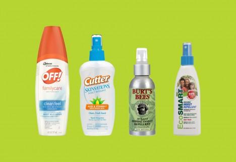 ConsumerReports Bug Spray Ratings
